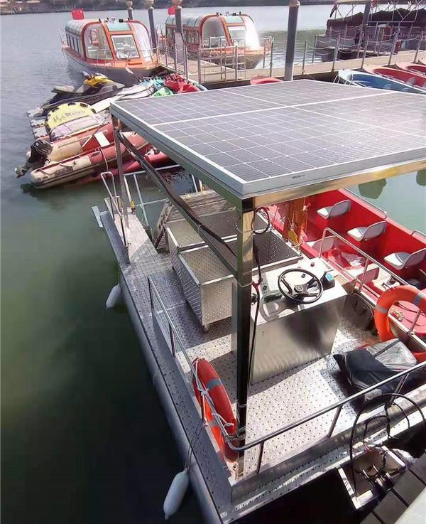 基本型水面漂浮物打捞船