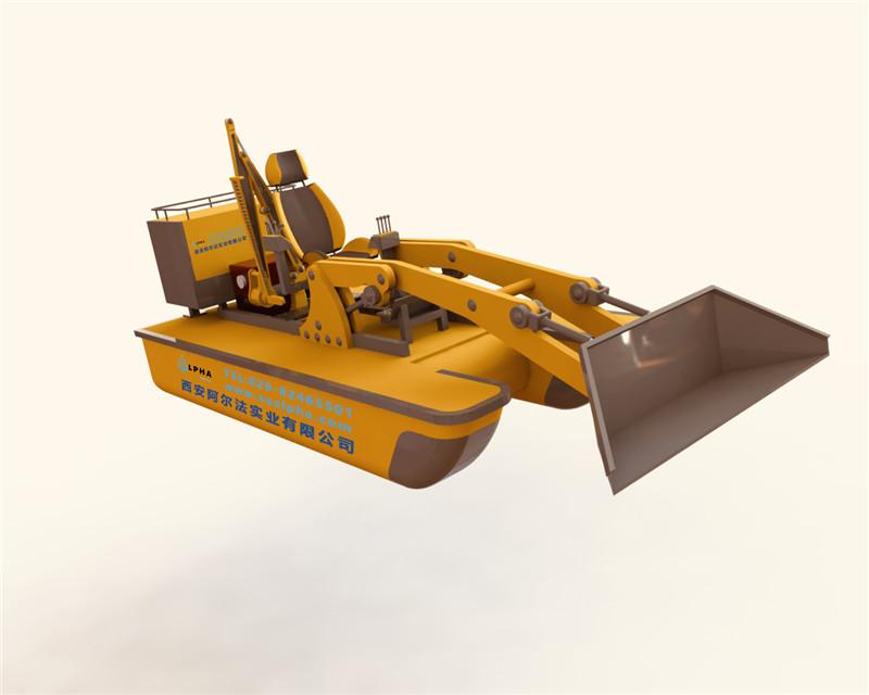 西安阿尔法实业多功能工作船的功能和优点是什么?