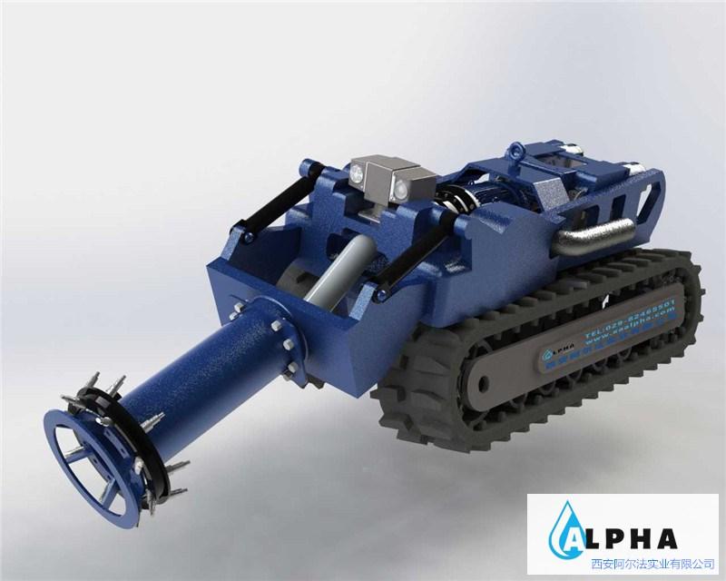 管道机器人中霍尔传感器的应用