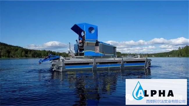 阿尔法水域施工水陆两栖作业船