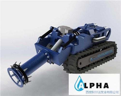 大口径管道检测机器人的应用