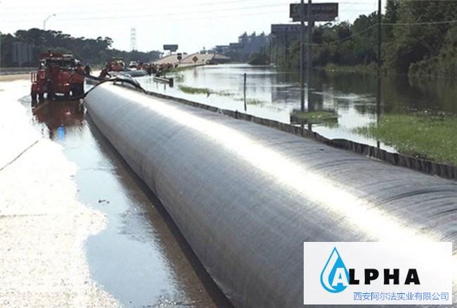 生态充水拦水坝