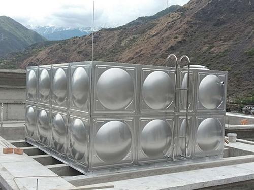 四川不锈钢水箱安装成功案例