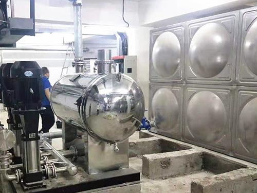 成都二次供水设备销售成功案例