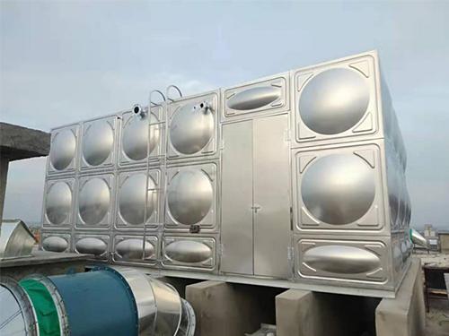 成都不锈钢生活水箱施工成功案例