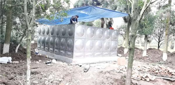 都江堰军区箱泵一体化泵站成功案例