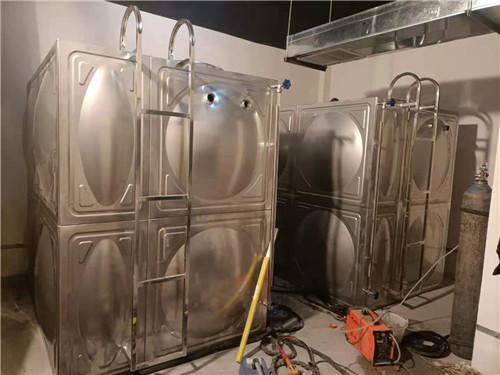 四川不锈钢水箱内部的加强筋怎么设置?