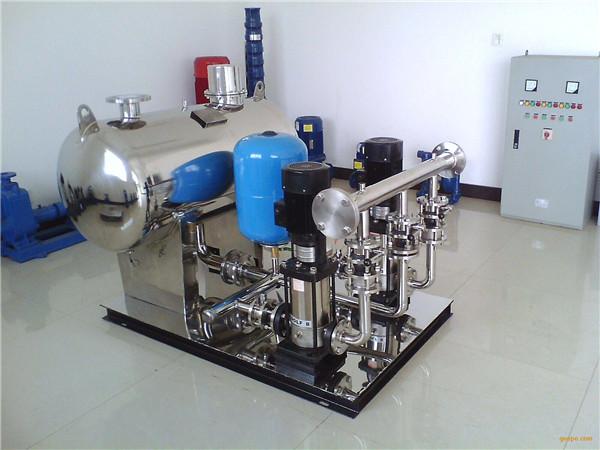 成都二次供水设备的主要分类和维护