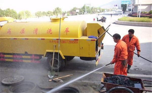 榆林高压清洗管道的优势有哪些?