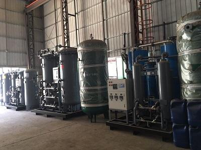 某大型铝业公司600立方,纯度99.999%制氮机安装现场