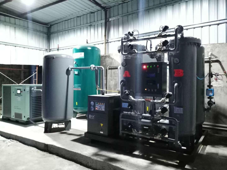 SMT用户150立方,纯度99.99%制氮机使用现场