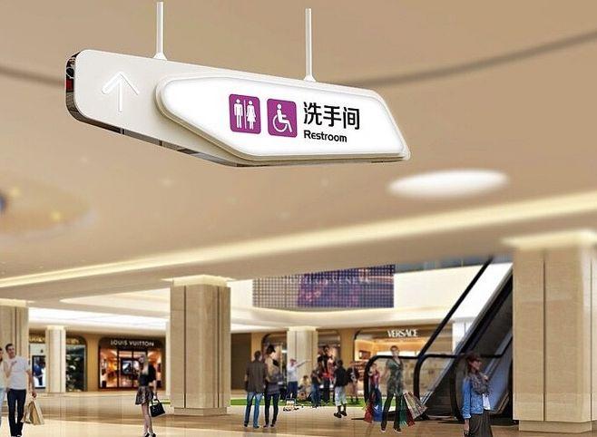 设置四川商场标识有什么作用?
