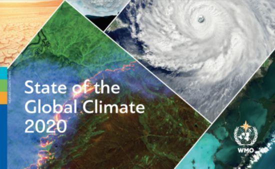 4月19日气象组织发布《2020年全球气候状况》报告
