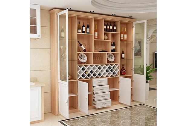 酒柜怎样设计更有格调?成都定制酒柜厂家教你几招