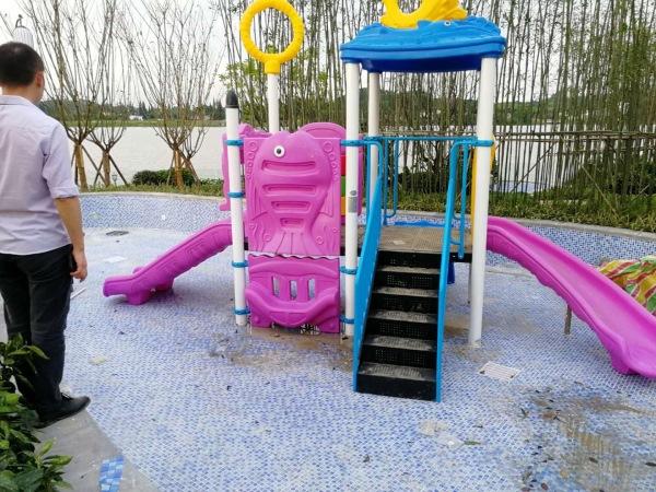 成都儿童游乐设备安装成功案例