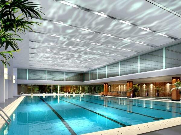 成都室外游泳池设备厂家设计案例