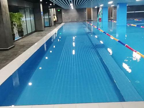 成都泳池消毒设备安装成功案例