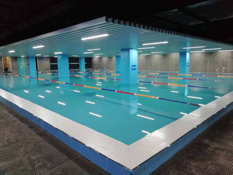蓝海浪游泳池设备建设成功案例