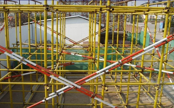 扣件式钢管脚手架搭设 各部位的规范要求