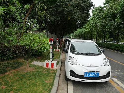 电动汽车充电桩安装