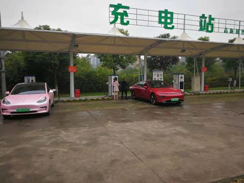 自贡南湖充电站成功案例
