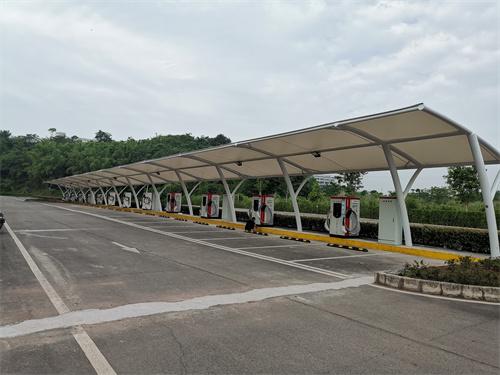 自贡花海充电站客户案例