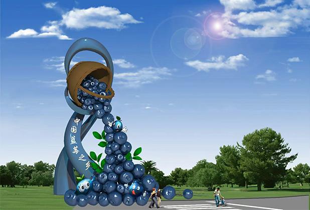 四川农业园景观雕塑设计