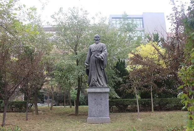成都校园名人雕塑