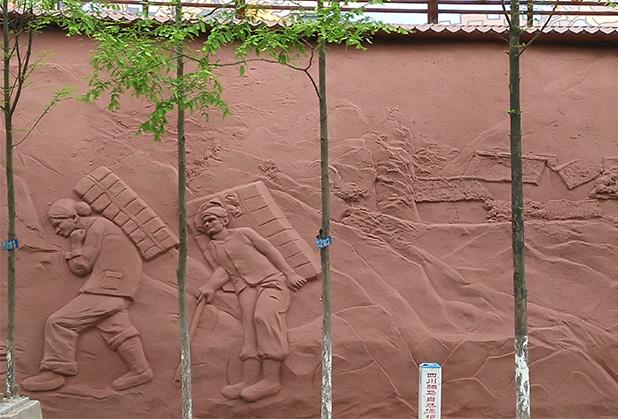 旅游景区雕塑