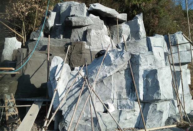 四川假山塑石