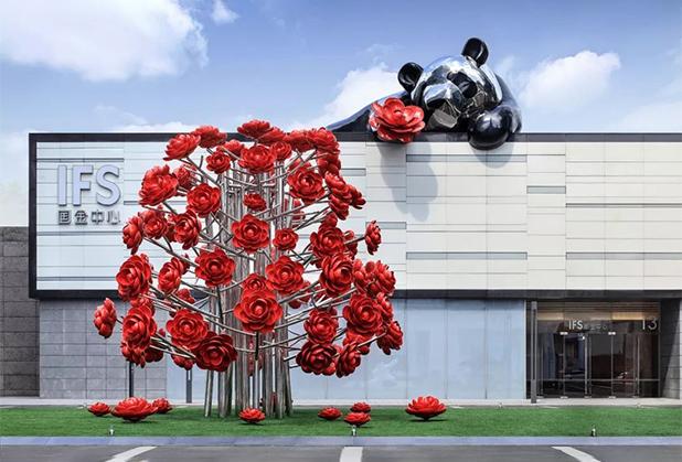 四川网红打卡雕塑设计