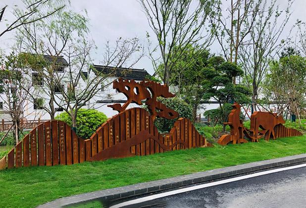 四川乡村文化雕塑