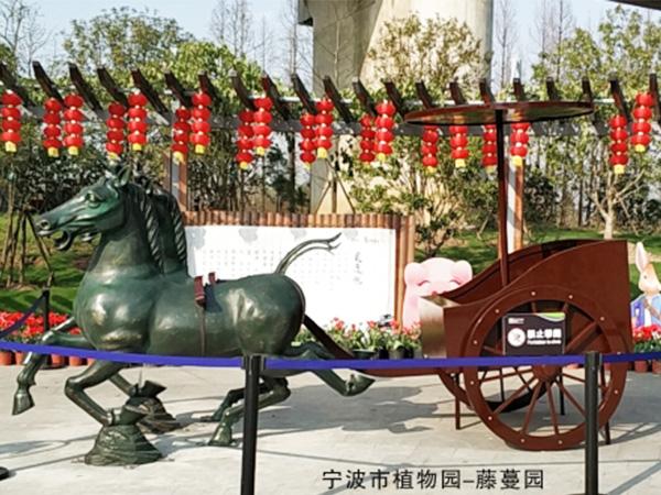 四川景区雕塑厂家成功案例