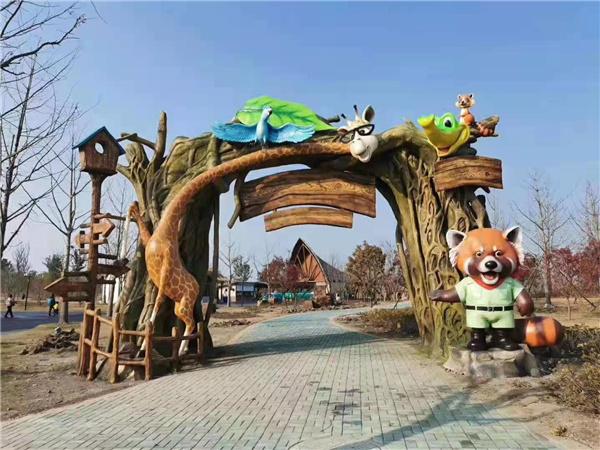 四川旅游景观雕塑制作案例