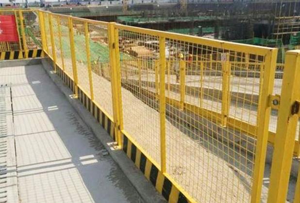 四川基坑临边护栏安装
