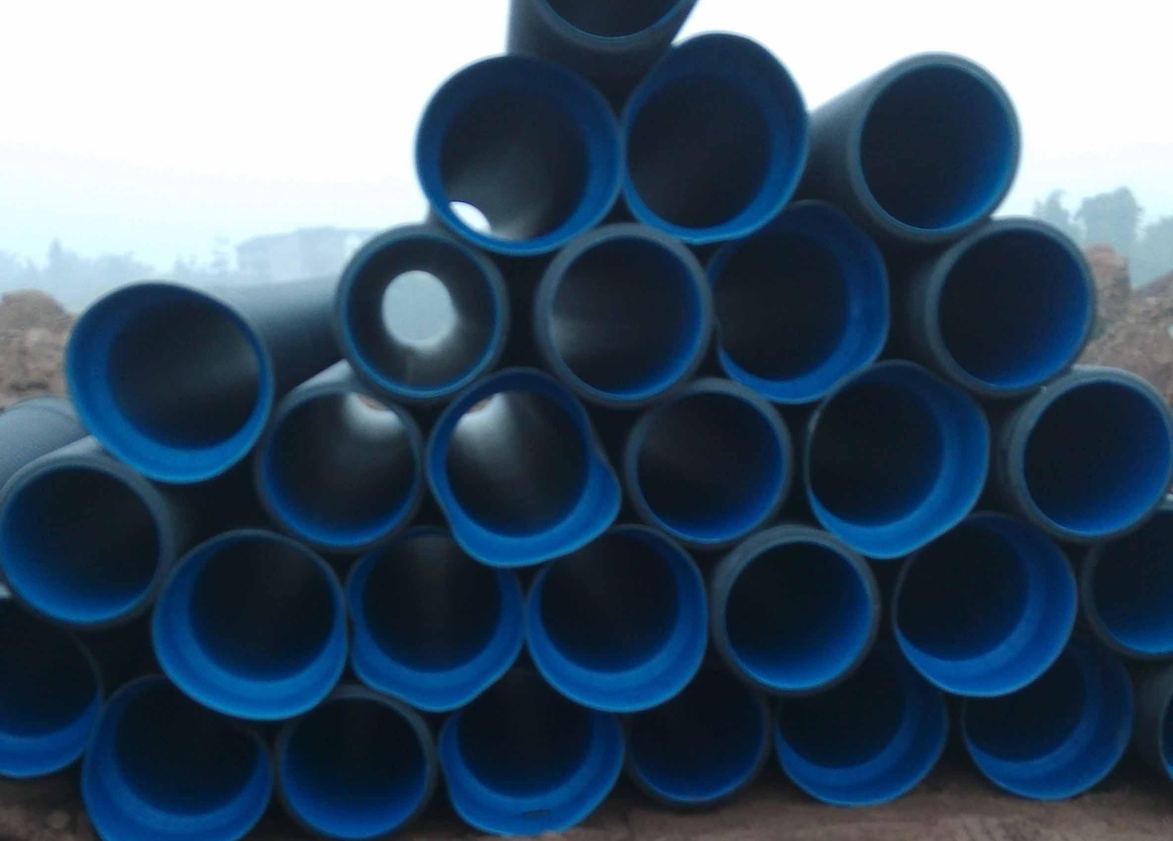 PE给水管施工案例