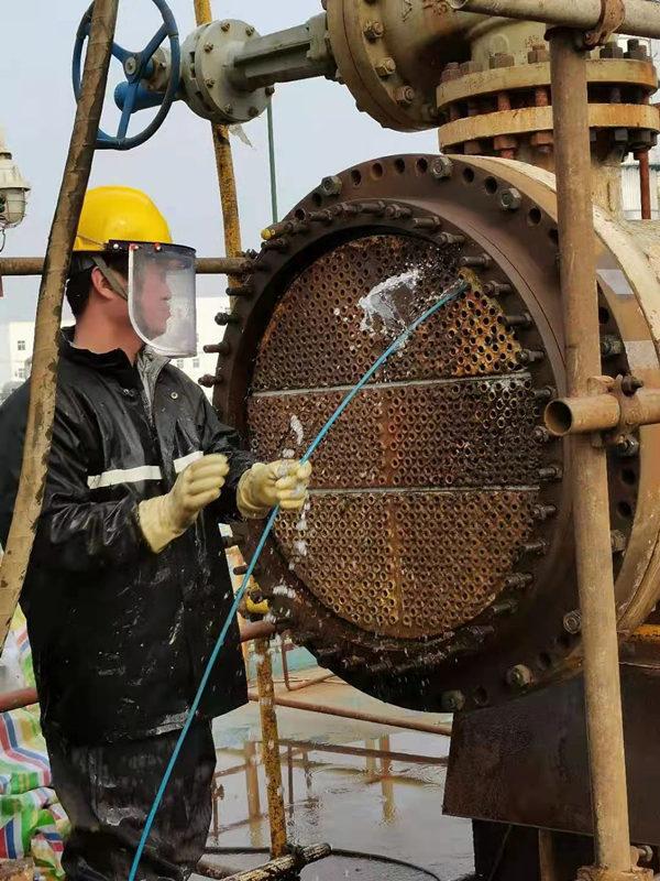 铜川换热器高压水射流清洗服务