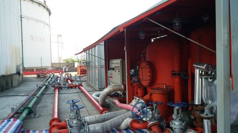 铜川储油罐清洗施工