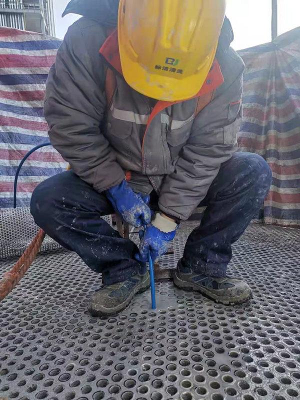 换热器高压水射流清洗施工