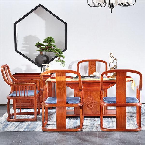 中信红木-知音茶桌