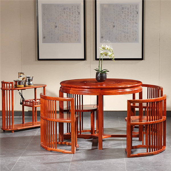 中信红木-圆融茶台