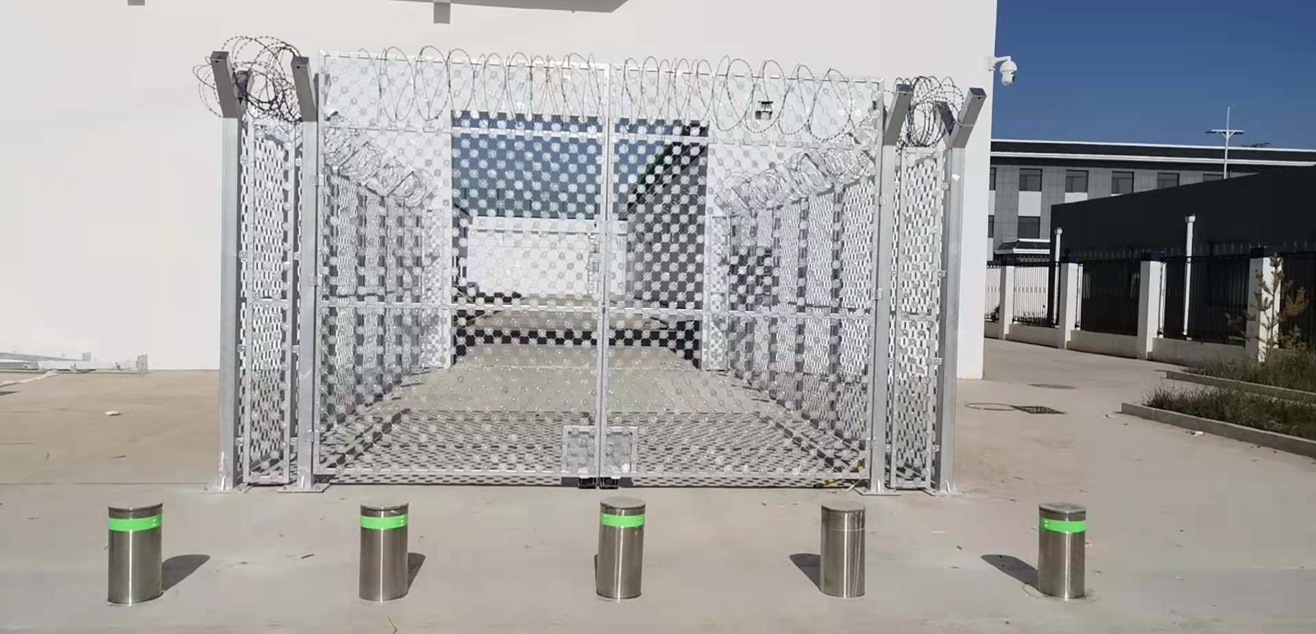 监狱升降柱