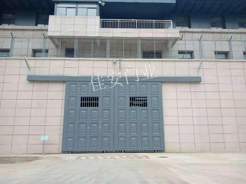 陕西监狱门安装