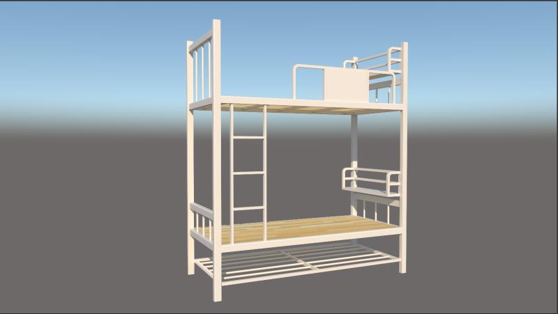 看守所床具安装