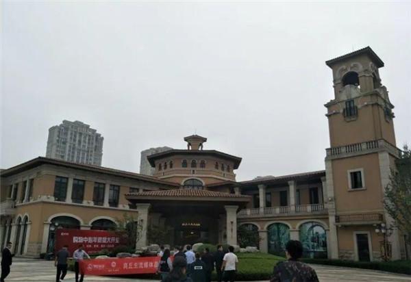 聚苯板案例:商丘锦艺君澜湾项目