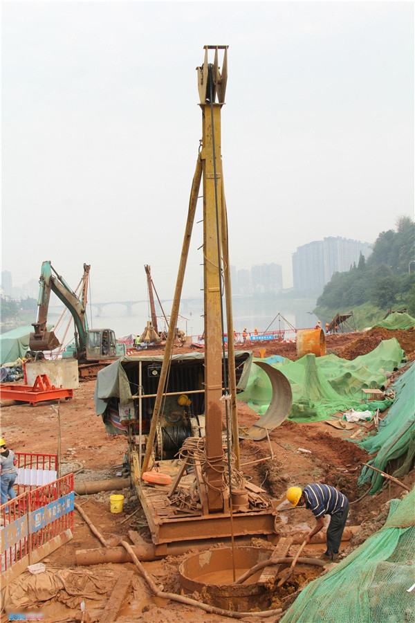 河南桩基工程施工过程