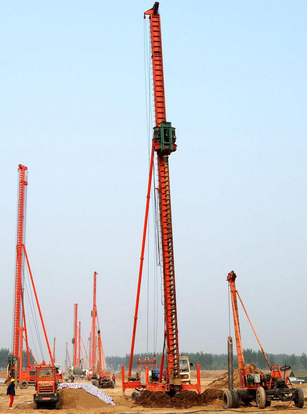 河南桩基工程中打桩基础有哪些施工工艺?