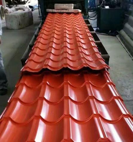 陕西红色彩钢板生产