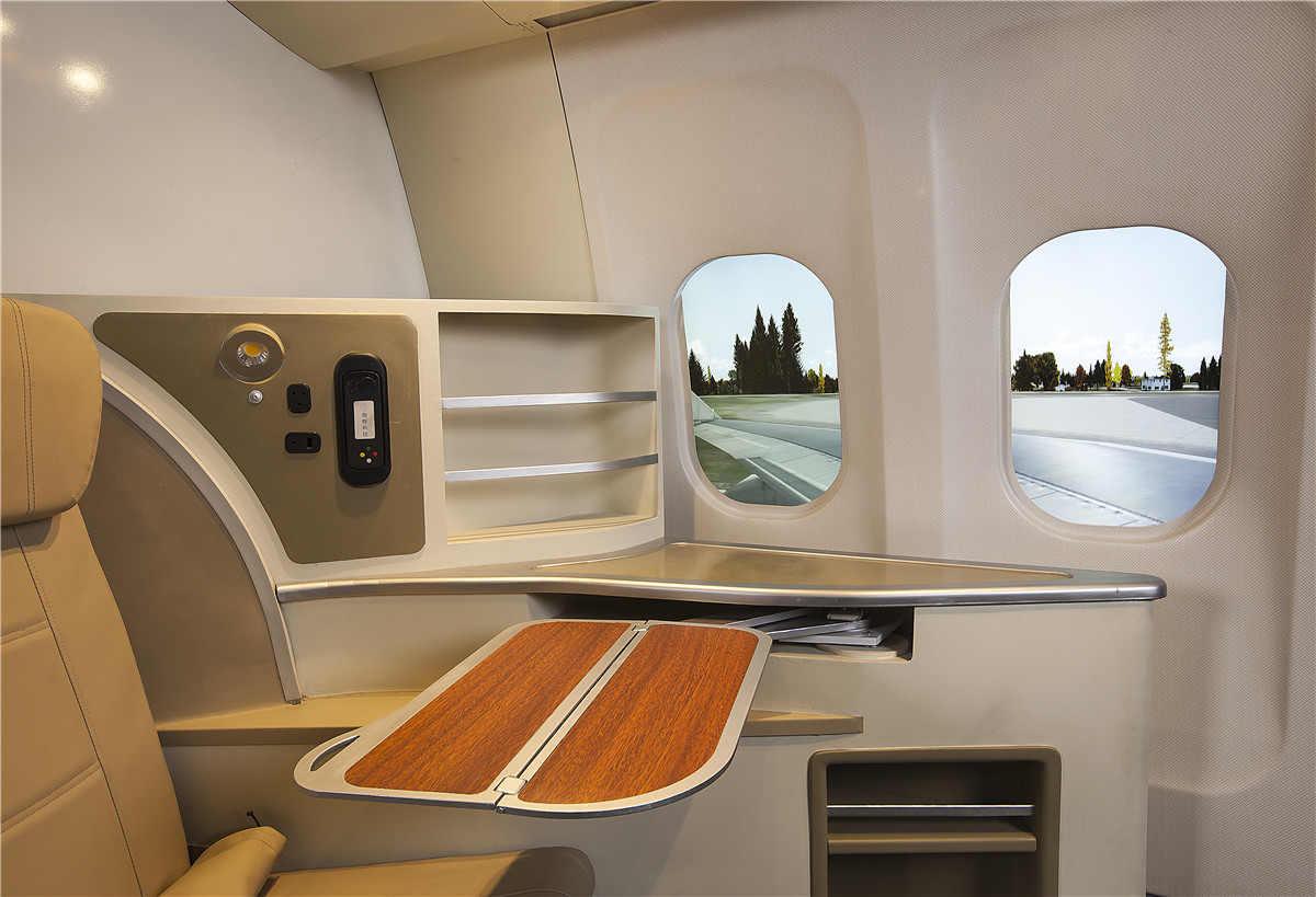 临夏B777空乘模拟舱