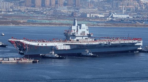 热烈祝贺我国首艘国产母舰交付海军